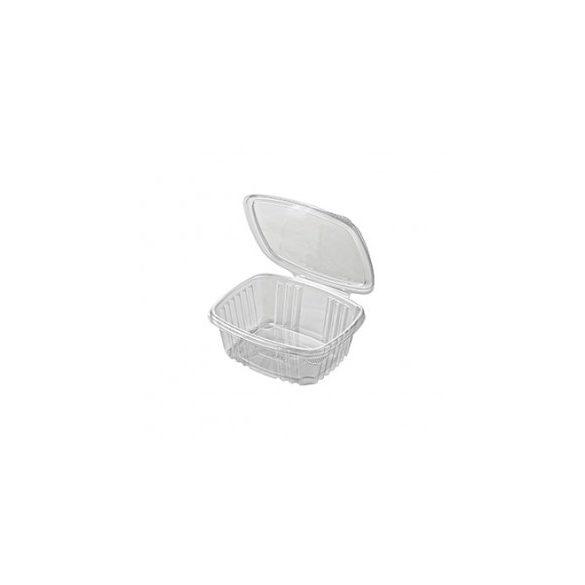 Műanyag összecsukható doboz szögletes 250ml 50db/cs 600db/krt
