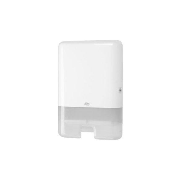 552000 Tork műanyag adagoló Interfolded hajtogatású kéztörlőkhöz, fehér (H2 rendszer)