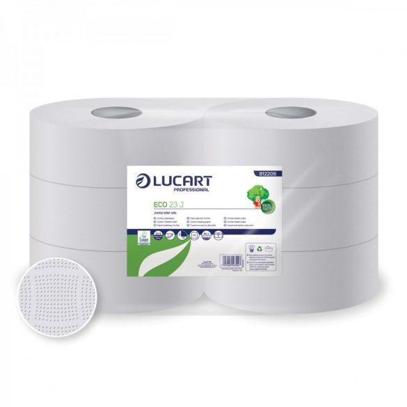 Lucart toalettpapír, 2rtg., Fehér, 23cm, 6db/cs