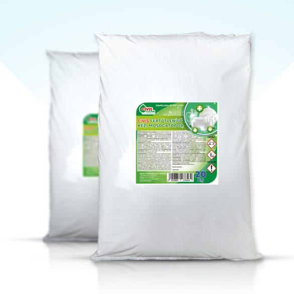 Civis fertőtlenítős kézi mosogatópor 20Kg