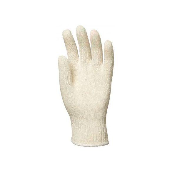 Duplaszálas cérnakesztyű, fehér, női 7-8