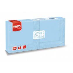 Szalvéta Fato 2rét. 25x25cm 1/4 világos kék 100db/cs 38cs/krt