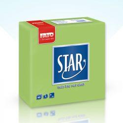 Szalvéta FATO Star 38x38cm almazöld 40db/cs 30cs/#