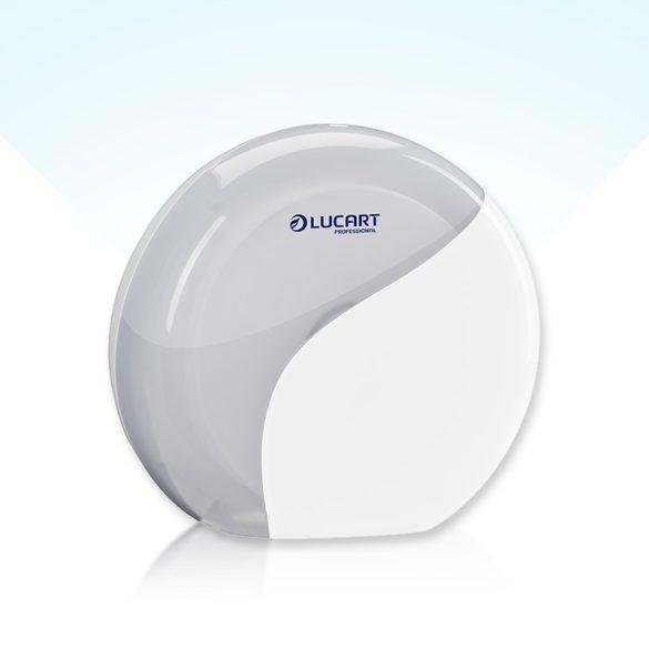 Lucart Identity Mini Jumbo toalettpapír adagoló fehér/fekete