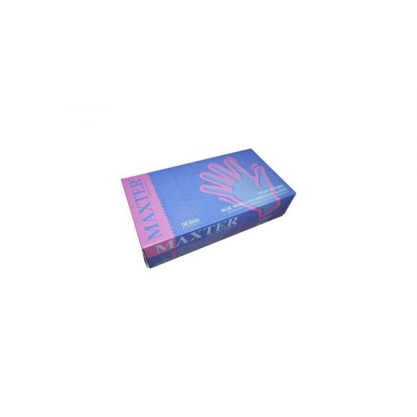 Nitril kesztyű kék púder mentes L (100 db/cs)