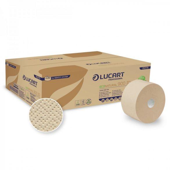 Lucart toalettpapír, 2rtg., natúr, 19cm, 202m, 12tek/krt