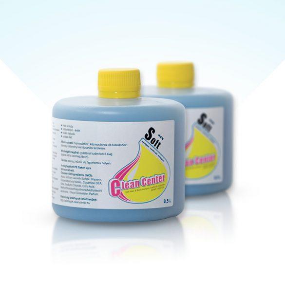 Soft hair&body sampon, tusfürdő szappan 0,5 liter