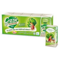 Eco Natural papírzsebkendő 90F 10x9db/csomag 24cs./krt