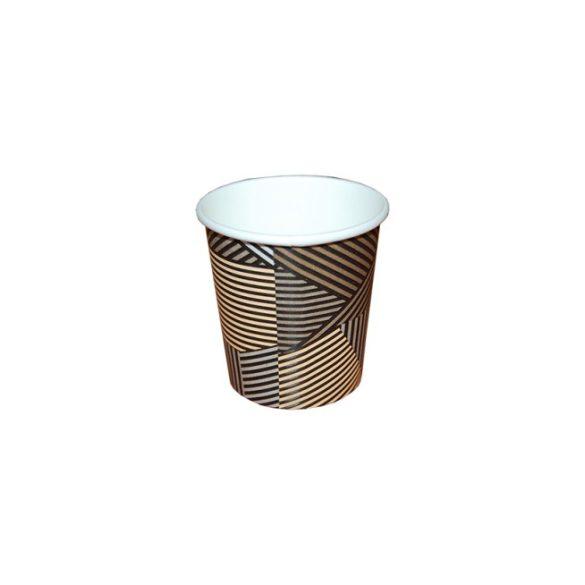 Papírpohár csíkos 100ml-es 50db/cs 1000db/krt