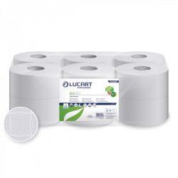 Lucart toalettpapír, 2rtg., fehér, 19cm, 120m, 12tek/cs