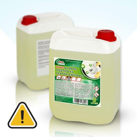 Civis Klóros tisztító és fertőtlenítő 5 liter
