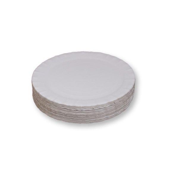 Papírtálca kerek (23cm) 100db/cs