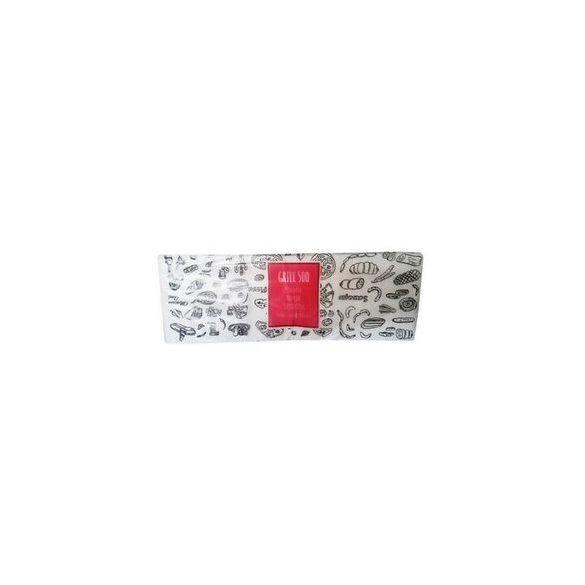 Szalvéta Grill 29x29 cm 1/4 hajtogatott 1 rét. Hófehér (500 sz/cs)(5 cs/#)