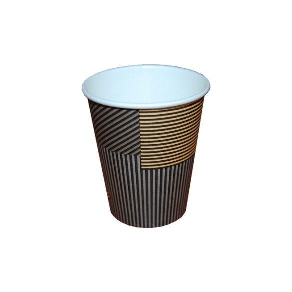 Papírpohár csíkos 480 ml-es 50db/cs 1000db/krt