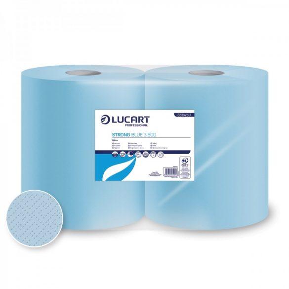 Lucart ipari törlő, 3rtg kék 500 lapos (2 roll/#)