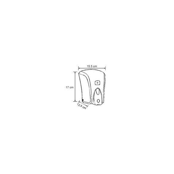Vialli Folyékonyszappan adagoló 1000ml (S6)1