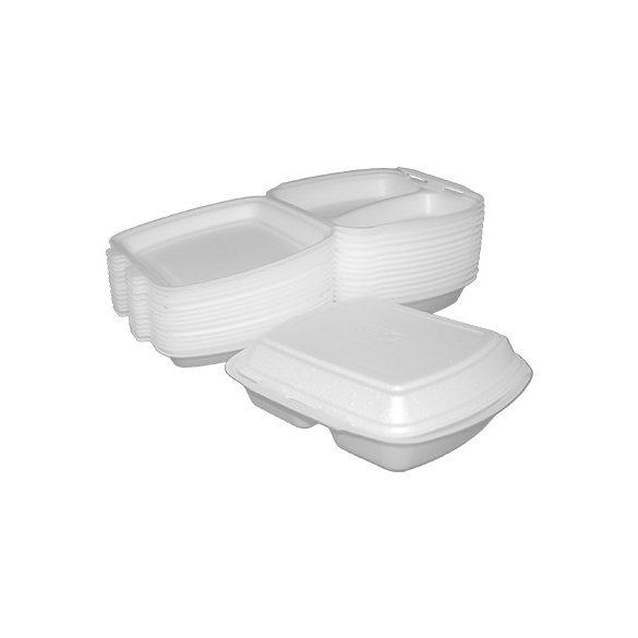 Habdoboz menü box (HP4/2 két részes) 241x207x70mm B.125db/cs 250db/krt