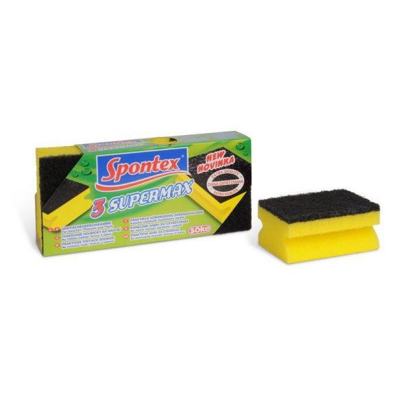 Supermax kombinált szivacs (3db-os)