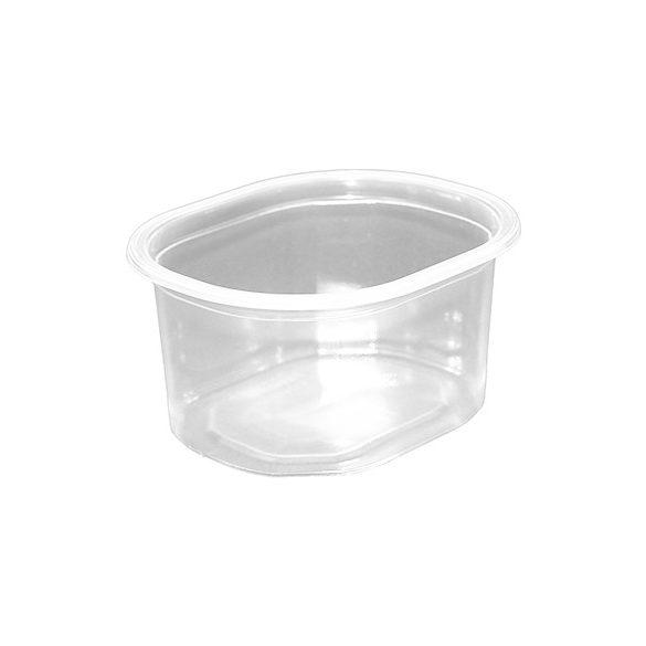 Műanyag ovális svédtál 500ml PP (mikrózható) 50db/cs 900db/krt